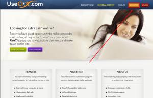 Cara Daftar di Bisnis Online PTC useclix